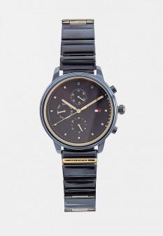 Женские синие часы Tommy Hilfiger
