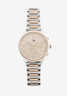 Женские осенние золотые часы