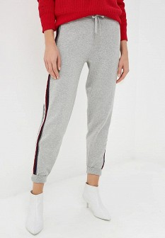 Женские серые брюки спорт Tommy Hilfiger
