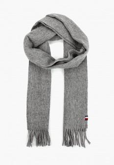 Мужской серый шарф Tommy Hilfiger