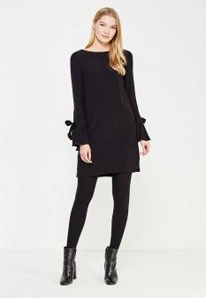 Черное осеннее платье Top Secret