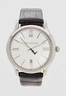 Мужские черные итальянские часы