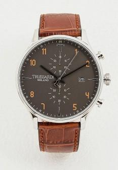 Мужские коричневые итальянские осенние часы