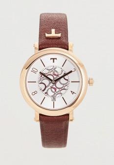 Женские коричневые итальянские осенние часы