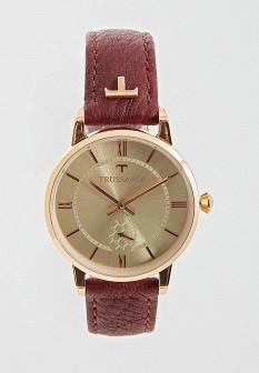 Женские бордовые итальянские часы