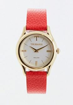 Женские красные итальянские осенние часы