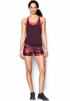 Женские красные осенние шорты