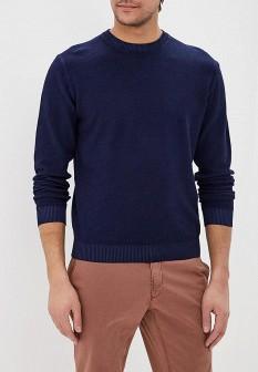 Мужской синий осенний свитер
