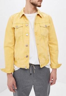 Мужская желтая осенняя куртка