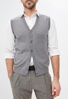 Мужской серый жилет United Colors of Benetton