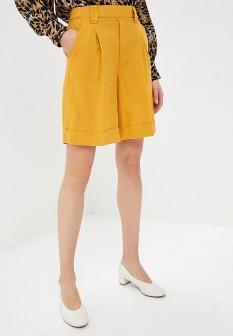 Женские желтые шорты United Colors of Benetton