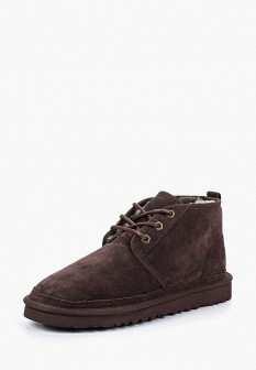 Мужские коричневые осенние ботинки