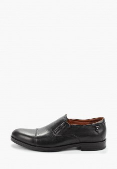 Мужские черные осенние кожаные туфли