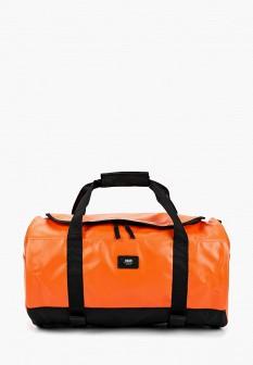 Мужская оранжевая осенняя спортивная сумка