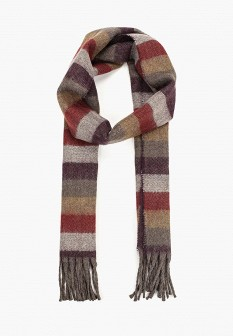 Мужской итальянский осенний шарф