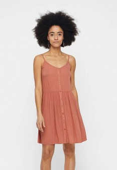 Коралловое платье Vero moda