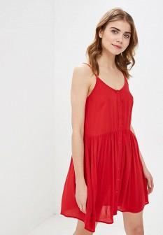 Красное платье Vero moda