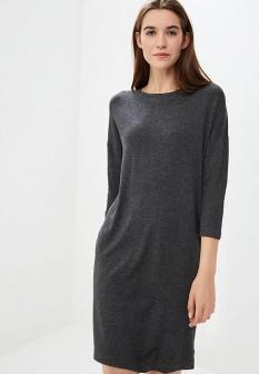 Серое осеннее платье Vero moda