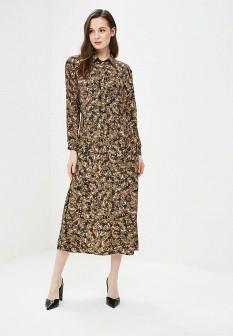 Коричневое платье Vis-a-vis