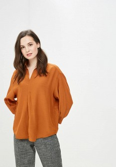 Коричневая блузка Vis-a-vis