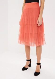 Коралловая юбка Vila