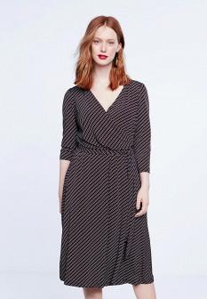 Коричневое платье Violeta by Mango