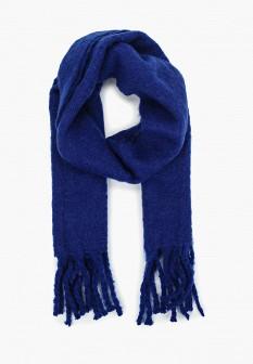 Женский синий шарф Violeta by Mango