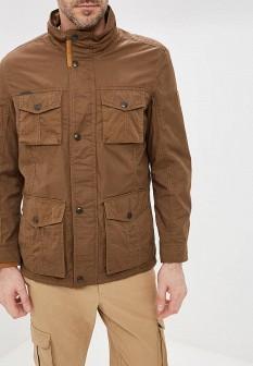 Мужская коричневая осенняя куртка