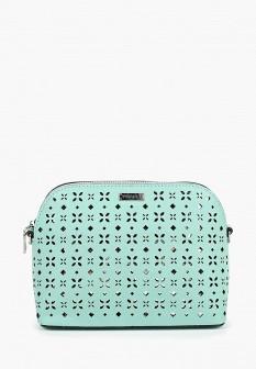Женская бирюзовая кожаная сумка