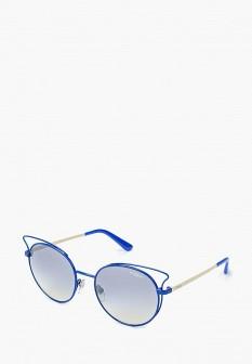 Женские синие итальянские осенние солнцезащитные очки