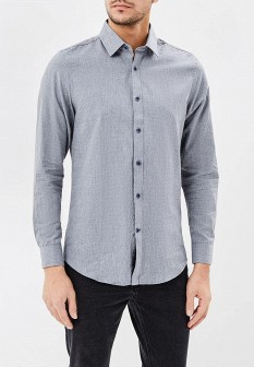 Мужская серая рубашка Warren Webber
