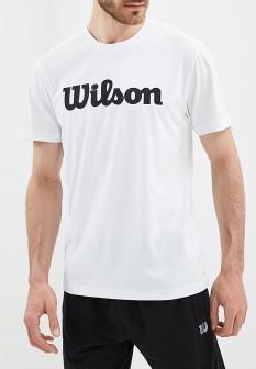 Мужская белая спортивная футболка