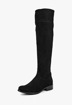 Черные осенние ботфорты Wojas