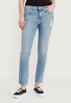 Женские голубые джинсы Wrangler