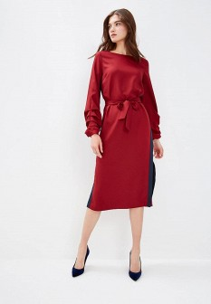 Бордовое платье ZARINA