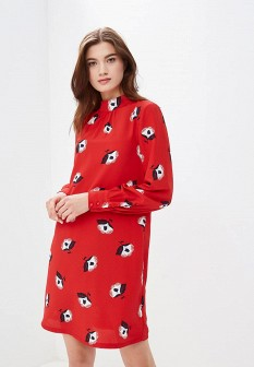 Красное платье ZARINA