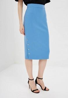 Голубая юбка ZARINA