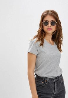 Женская серая футболка ZARINA