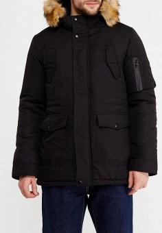 Куртка утепленная, Aarhon, цвет: черный. Артикул: AA002EMXLB31. Одежда / Верхняя одежда / Пуховики и зимние куртки