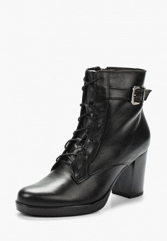 Ботильоны, Accord, цвет: черный. Артикул: AC009AWVIA56. Обувь
