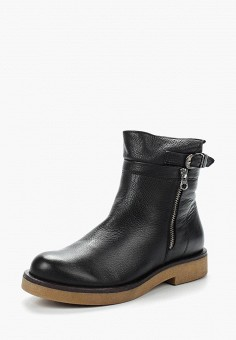 Полусапоги, Accord, цвет: черный. Артикул: AC009AWVIA57. Обувь