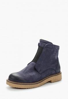 Полусапоги, Accord, цвет: синий. Артикул: AC009AWVIA58. Обувь