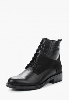 Ботинки, Accord, цвет: черный. Артикул: AC009AWVIA62. Обувь