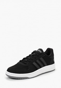 Кеды, adidas, цвет: черный. Артикул: AD002AMCDJC9. Обувь / Кроссовки и кеды / Кеды