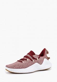 Кроссовки, adidas, цвет: бордовый. Артикул: AD002AWCDKD0. Обувь