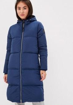 Пуховик, adidas, цвет: синий. Артикул: AD002EWCDIA5. Одежда / Верхняя одежда / Зимние куртки