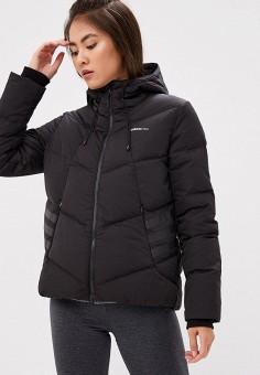 Пуховик, adidas, цвет: черный. Артикул: AD002EWCDIA7. Одежда / Верхняя одежда