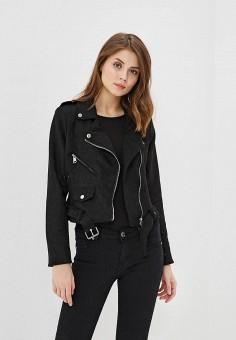 Куртка, Adrixx, цвет: черный. Артикул: AD021EWATWE5. Одежда / Верхняя одежда / Легкие куртки и ветровки