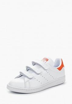 Кеды, adidas Originals, цвет: белый. Артикул: AD093AUQIP18. Обувь / Кроссовки и кеды / Кеды / Низкие кеды