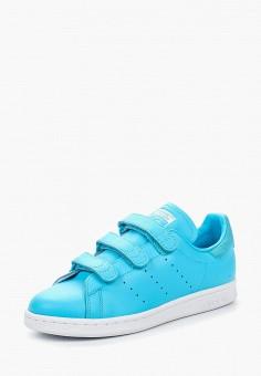 Кеды, adidas Originals, цвет: голубой. Артикул: AD093AUQIP19. Обувь / Кроссовки и кеды / Кеды / Низкие кеды